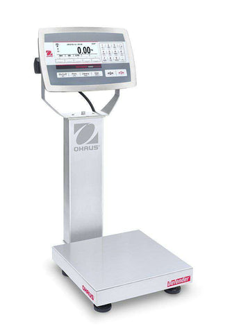 Ohaus D52XW12WQR6 Defender 5000 Washdown Bench Scale, 25 x 0.001 lbs with Warranty