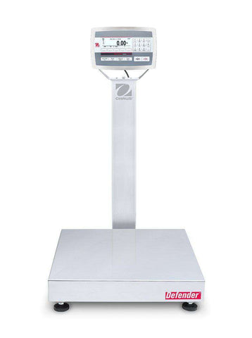 Ohaus D52XW250WTX7 Defender 5000 Washdown Bench Scale, 500 x 0.02 lbs with Warranty