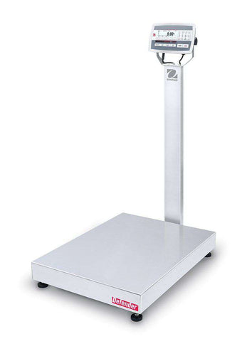 Ohaus D52XW250WQV8 Defender 5000 Washdown Bench Scale, 500 x 0.02 lbs with Warranty