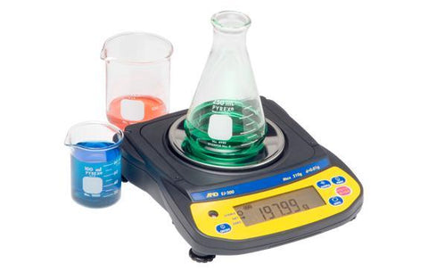 A&D Weighing Newton EJ-610 Portable Balance, 610g x 0.01g with External Calibration with Warranty