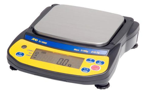 A&D Weighing Newton EJ-6100 Portable Balance, 6100g x 0.1g with External Calibration with Warranty