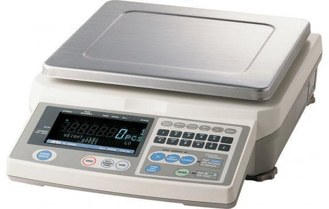 A&D Weighing FC-20Ki Counting Scale, 50lb x 0.005lb with Large Platform with Warranty