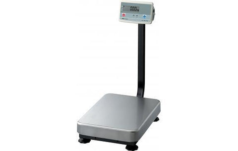 A&D Weighing FG-150KAL Platform Scale, 300lb x 0.02lb with Large Platform and Column with Warranty