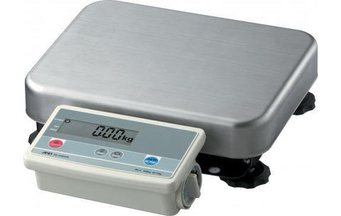 A&D Weighing FG-30KBMN Platform Scale 60lb x 0.02lb with Medium Platform and No Column, Legal for Trade with Warranty