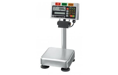A&D Weighing FS-6Ki Static Checkweigher (15lb x 0.001lb ) Legal for Trade and IP65 - 2 Year Warranty