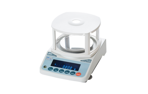 A&D Weighing FZ-300IWP Precision Balance, 320g x 0.001g with Internal Calibration, IP65 with Warranty