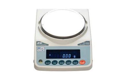 A&D Weighing FX-3000iNC Precision Balance 3200g x 0.01g with External Calibration, Measurement Canada - 5 Year Warranty