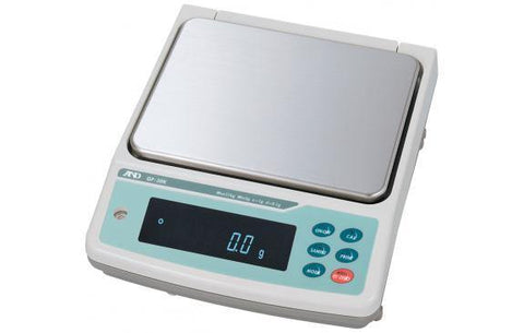 A&D Weighing GF-32K Precision Balance, 6.1/31kg x 0.1/1g with External Calibration with Warranty