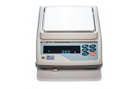 A&D Weighing GF-6000N NTEP Toploading Balance; 6100g x 1g with Warranty