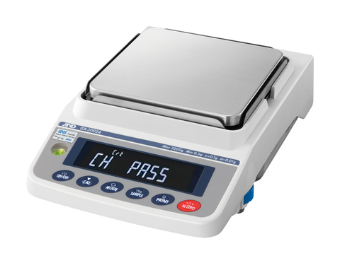 A&D Weighing Apollo GX-6001A Precision Balance, 6200g x 0.1g with Internal Calibration with Warranty