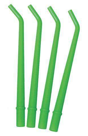 TPC Dental SAT-LG Disposable Suction Tips Surgical Aspirator Large, Green (HVE & Surgical Tips)