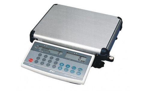 A&D Weighing HD-60KB 120lb, 0.02lb, Counting Scale with Dual Display and 10-digit Keypad - 2 Year Warranty
