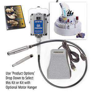 Foredom K.5200 Deluxe Woodcarving Kit 2 Handpieces 2 Year Limited Warranty - Ramo Trading
