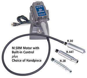 Foredom M.SRM Bench Motor with Built-in Control, Choice of Handpiece with Warranty
