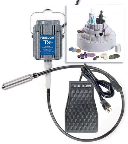 Foredom K.TX300 Jewelers Kit 2-Year Limited Warranty. - Ramo Trading
