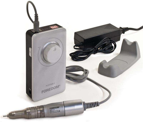 "Foredom K.1030 Portable Rotary Micromotor Kit 2.35mm (3/32"") or 1/8"" Collet 230 Volt-Int' Two Year Limited Warranty"
