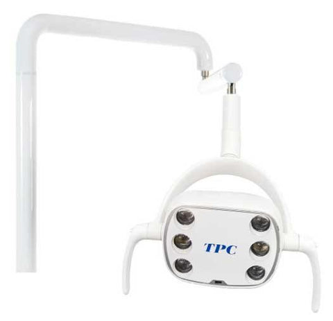 TPC Dental L550-LED Lustrous LED Post Mount Operatory Light with motion sensor