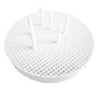 TPC Dental LAB-HC-CP Honey Comb Tray with 6 Ceramic Pins