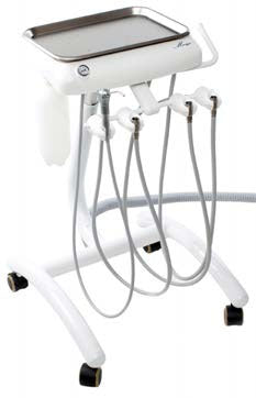 TPC Dental MC-500 MIRAGE DELIVERY MOBILE CART Without Vacuum Pkg with Warranty