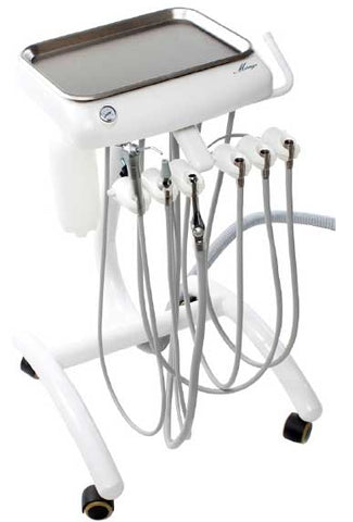 TPC Dental MC-501 MIRAGE DELIVERY MOBILE CART With Vacuum Package