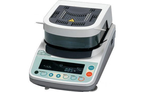 A&D Weighing MS-70 Moisture Analyzer, 71g x 0.0001g (0.001/0.01/0.1% Moisture Content) with Warranty