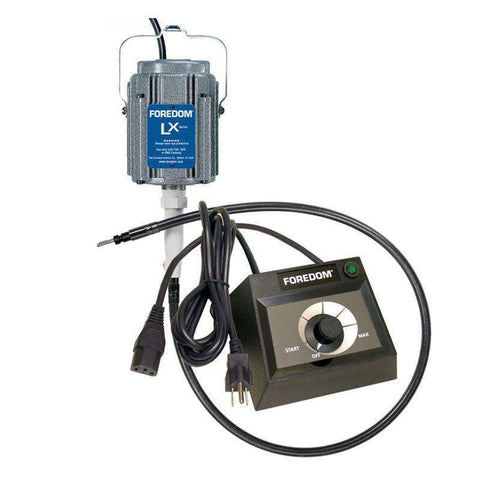 Foredom M.LXH Hang-Up Motor with Square Drive Shaft and choice of Speed Control with Warranty