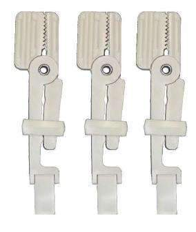 TPC Dental M7000-S ALLIGATOR XRAY FILM HOLDER STRAIGHT 3/PKG
