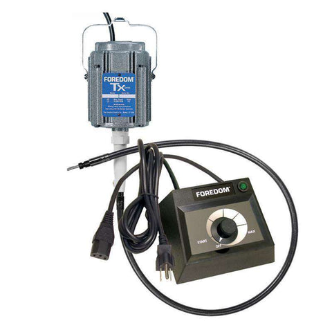 Foredom Hang-Up Motor with Dial Control, M.TX-EMX 15,000 RPM - Ramo Trading