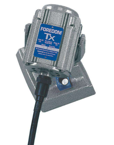 Foredom M.TXMH Bench Motor with Square Drive Shafting and Built-in Dial Control 15,000 RPM