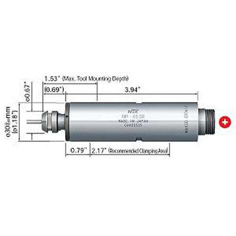NSK Nakanishi NR-453E Spindle - 50,000rpm (Ceramic Bearing) - Add to Cart  to See Price