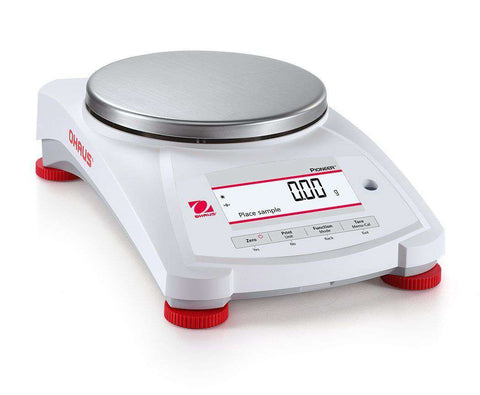 Ohaus PX1602/E Precision Electronic Balance, 1600g x 0.01g, External Calibration with Warranty