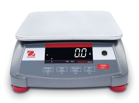Ohaus Ranger 4000 R41ME3 AM Compact Bench Scale 6 lb× 0.002 lb WITH Warranty