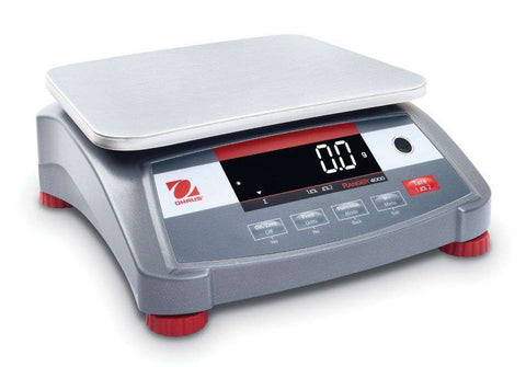 Ohaus Ranger 4000 R41ME6 AM Compact Bench Scale 15 lb* 0.005 lb WITH Warranty
