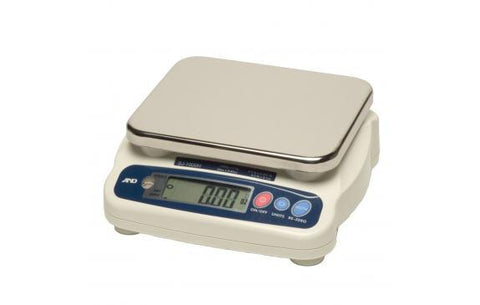 A&D Weighing SJ-30KHS Compact Bench Scale, 66lb x 0.05lb, NSF Listed with Warranty