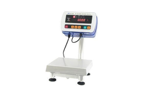 A&D Weighing SW-15KS 33lb, 0.002lb, High Pressure Washdown Scale with Small Platform - 1 Year Warranty - Ramo Trading