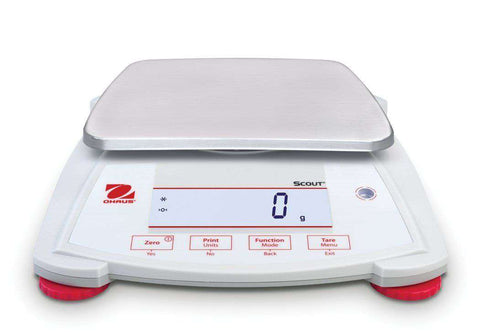 OHAUS Scout SPX6201 Capacity 6200g Portable Balance Scale 2 Year Warranty