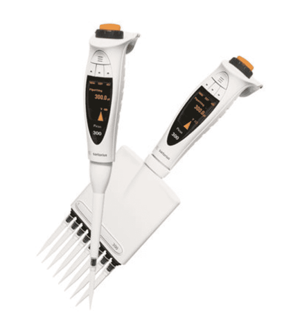 Sartorius Picus 735391 Electronic Pipette with Universal AC-Adaptor, 8-ch, 50-1200 µl Volume Range, with Warranty