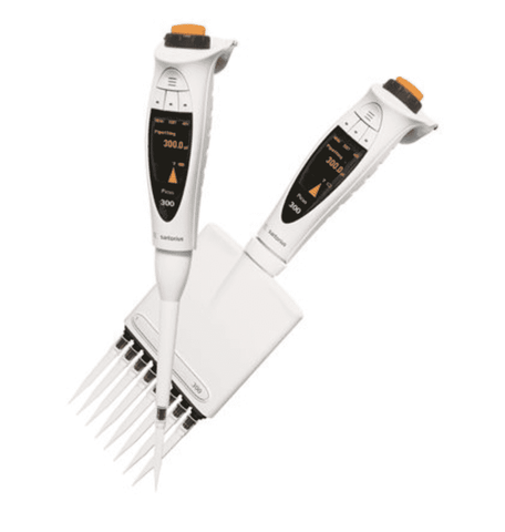 Sartorius Picus 735421 Electronic Pipette with Universal AC-Adaptor, 12-ch, 0,2-10 µl Volume Range, with Warranty