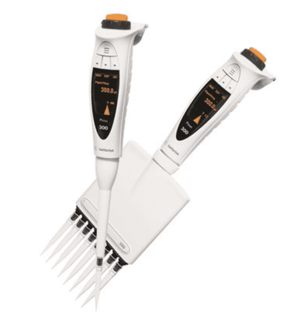 Sartorius Picus 735321 Electronic Pipette with Universal AC-Adaptor, 8-ch, 0,2 - 10 µl Volume Range, with Warranty