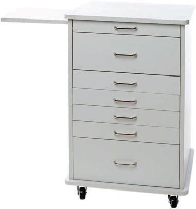 TPC Dental TMC-120-G North Carolina Mobile Cabinet (Grey) with Warranty