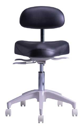 TPC Dental HY-5107 Mirage Hygienist Stool with Warranty