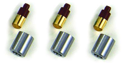 Vector VSBL-3 LED Diode for Sirona Coupler with cap - Pack of 3 bulbs and caps