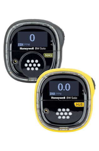 BW Technologies BW Solo Single BWS-S-Y -Gas Detector, (SO2) Standard - Yellow