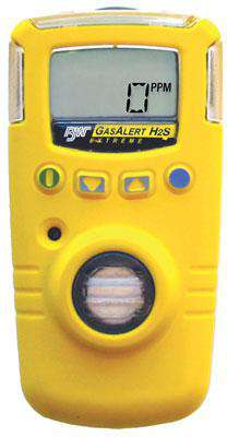 BW Technologies GAXT-Z-DL-BR GasAlert Extreme Detector Hydrogen Cyanide (HCN) with Yellow Housing (INMETRO certified, for Brazil only) - Ramo Trading