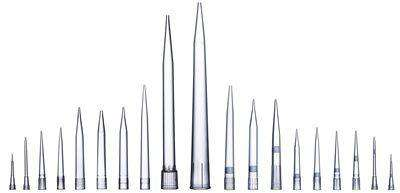 Sartorius 791210, 50-1200 uL Optifit Racked Extended Tip, Non-Filtered, 10 Trays x 96 Tips/Pack, 960 Tips/Pack, Non-Sterile