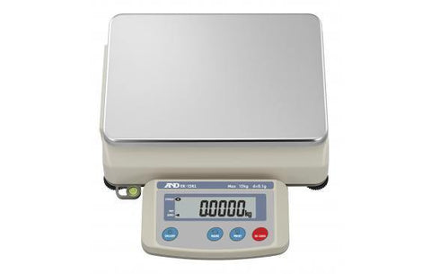 A&D Weighing EK-15KL Compact Bench Scale, 15kg x 0.1g with External Calibration with Warranty