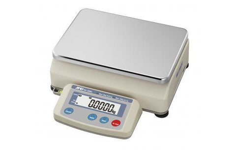 A&D Weighing EK-30KL Compact Bench Scale, 3/30kg x 0.1/1g with External Calibration with Warranty