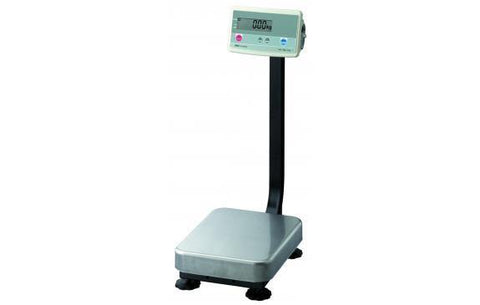 A&D Weighing FG-60KAMN Platform Scale, 150lb x 0.05lb with Medium Platform and Column, Legal for Trade with Warranty