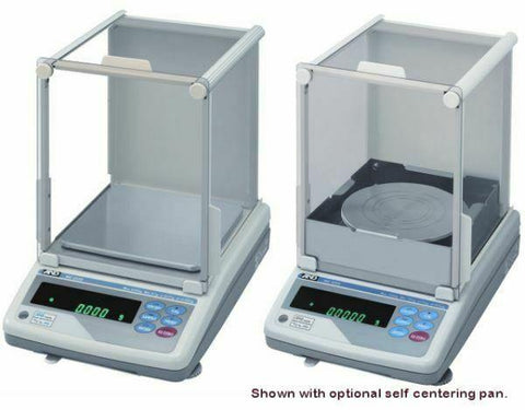 A&D Weighing MC-6100S Mass Comparator with glass Breeze Break 6100g x 0.001g w/ warranty