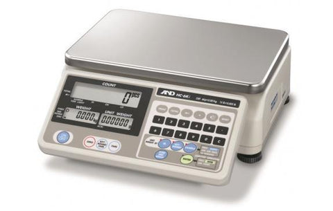 A&D Weighing HC-30Ki 60lb, 0.01lb HC Counting Scale - 2 Year Warranty